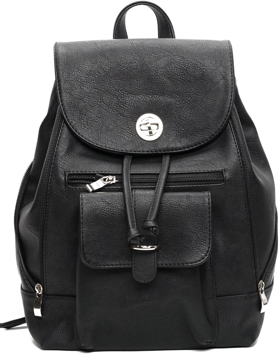 Рюкзак женский VITA-Art, цвет: черный. A 628-704
