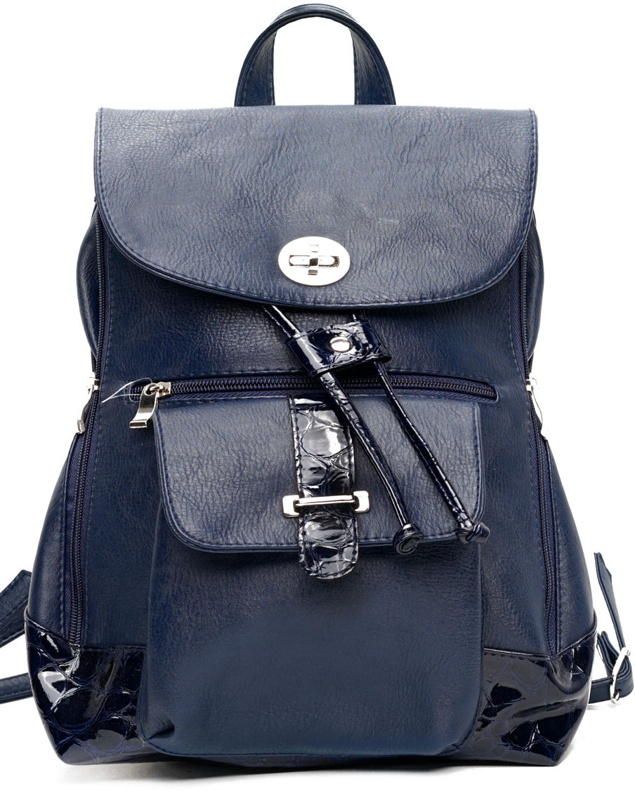 Рюкзак женский VITA-Art, цвет: синий. CC 787-704