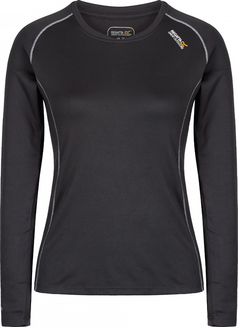 Термобелье футболка женская Regatta Beckley Top, цвет: серый. RWU025-61I. Размер 18 (50) рюкзак mcm 61i 33p 015 2015 stark l1