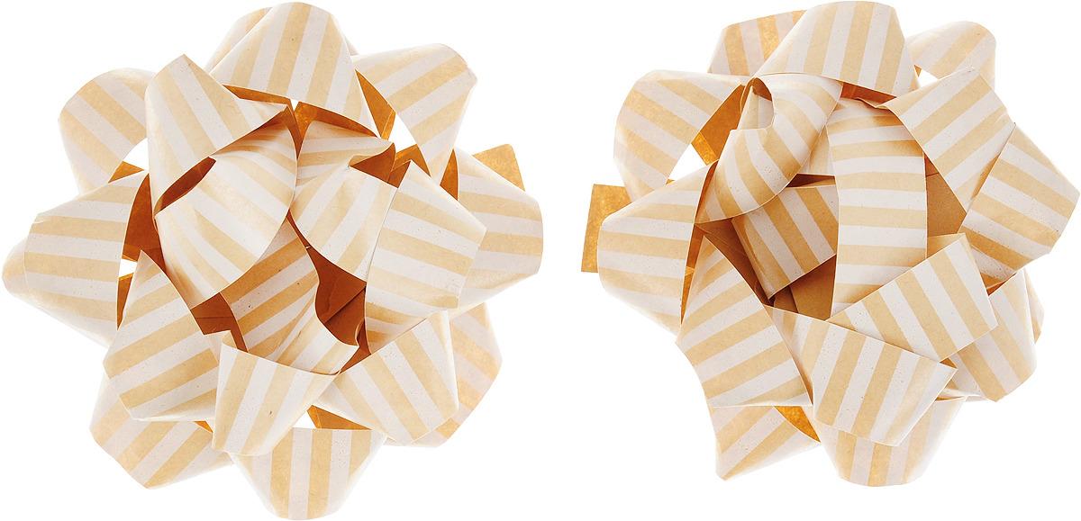 Бант упаковочный Veld-Co Звезда, цвет: бежевый, белый набор инструментов veld co 69901