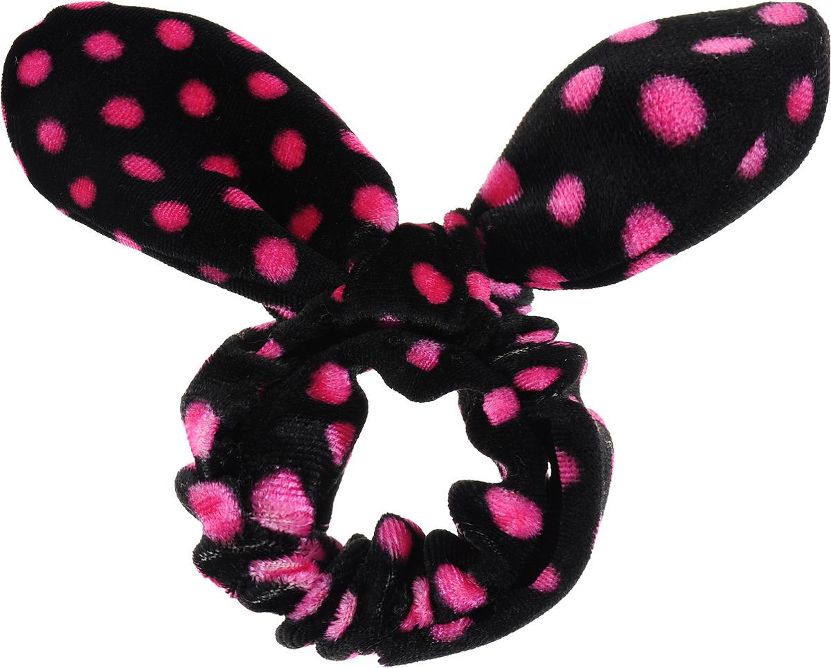 Заколка Hairagami Хеагами, одинарная, цвет: черный, розовый hairagami заколка хеагами одинарная коричневая