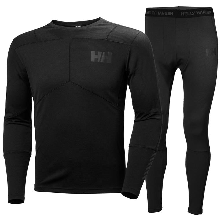Комплект одежды мужской Helly Hansen Hh Lifa Active Set, цвет: черный. 48311_990. Размер XXL (54) helly hansen helly hansen he012emhny30