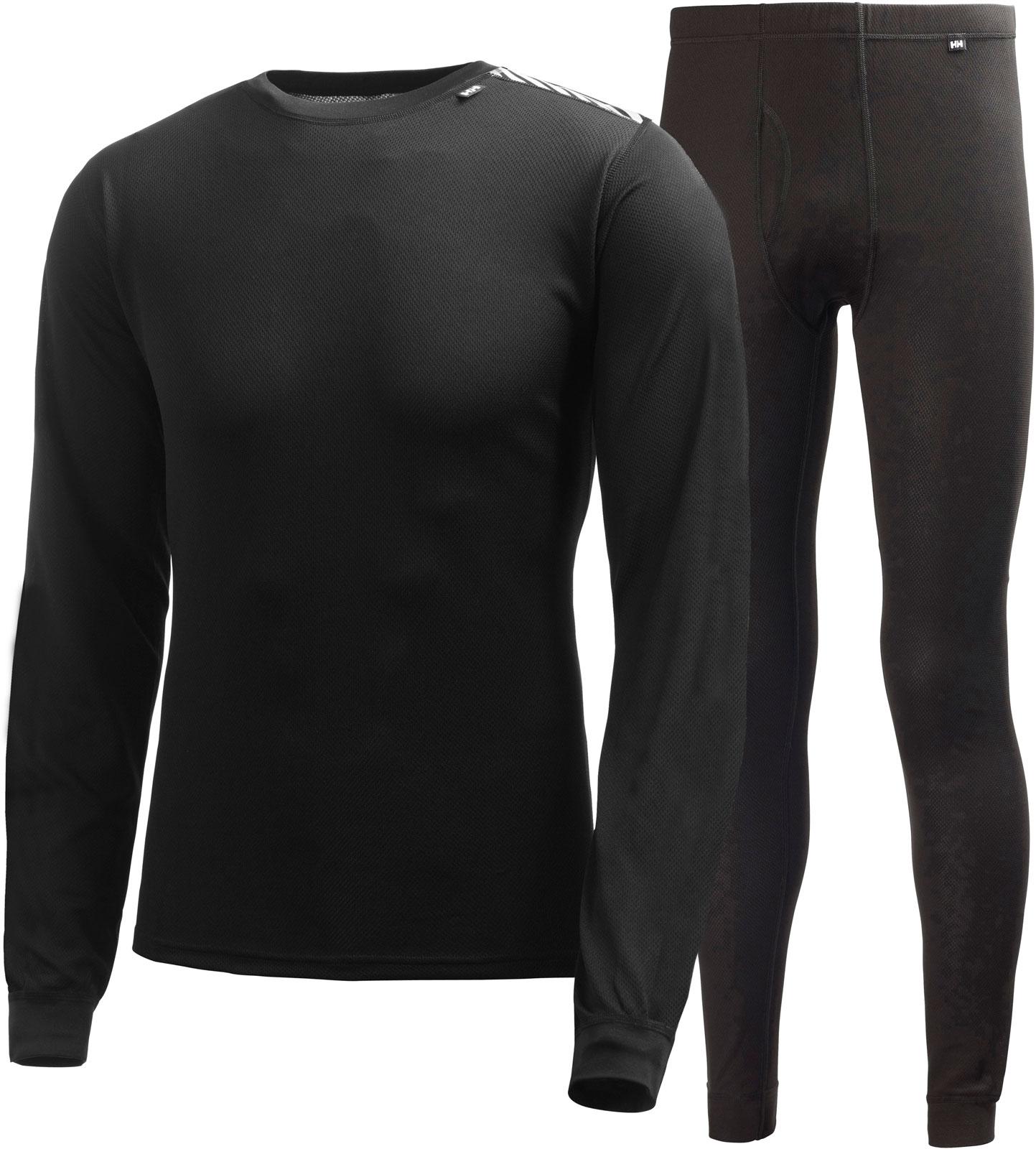 Комплект одежды мужской Helly Hansen Hh Comfort Light Set, цвет: черный. 48676_990. Размер XXL (54) все цены