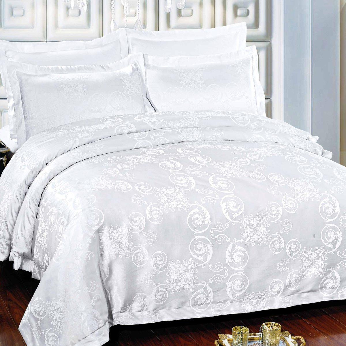 цена на Комплект постельного белья Letto, евро, наволочки 50х70, 70х70, AJ23-6