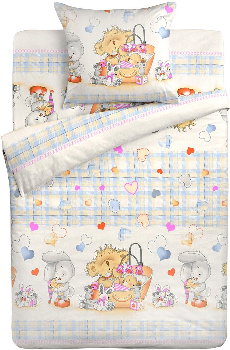 Фото Комплект в кроватку Letto, цвет: голубой. BGR-71