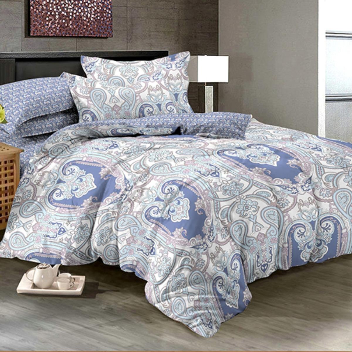 Комплект постельного белья Letto, евро, наволочки 70х70, PL57-6 letto комплект детского постельного белья фея цвет розовый