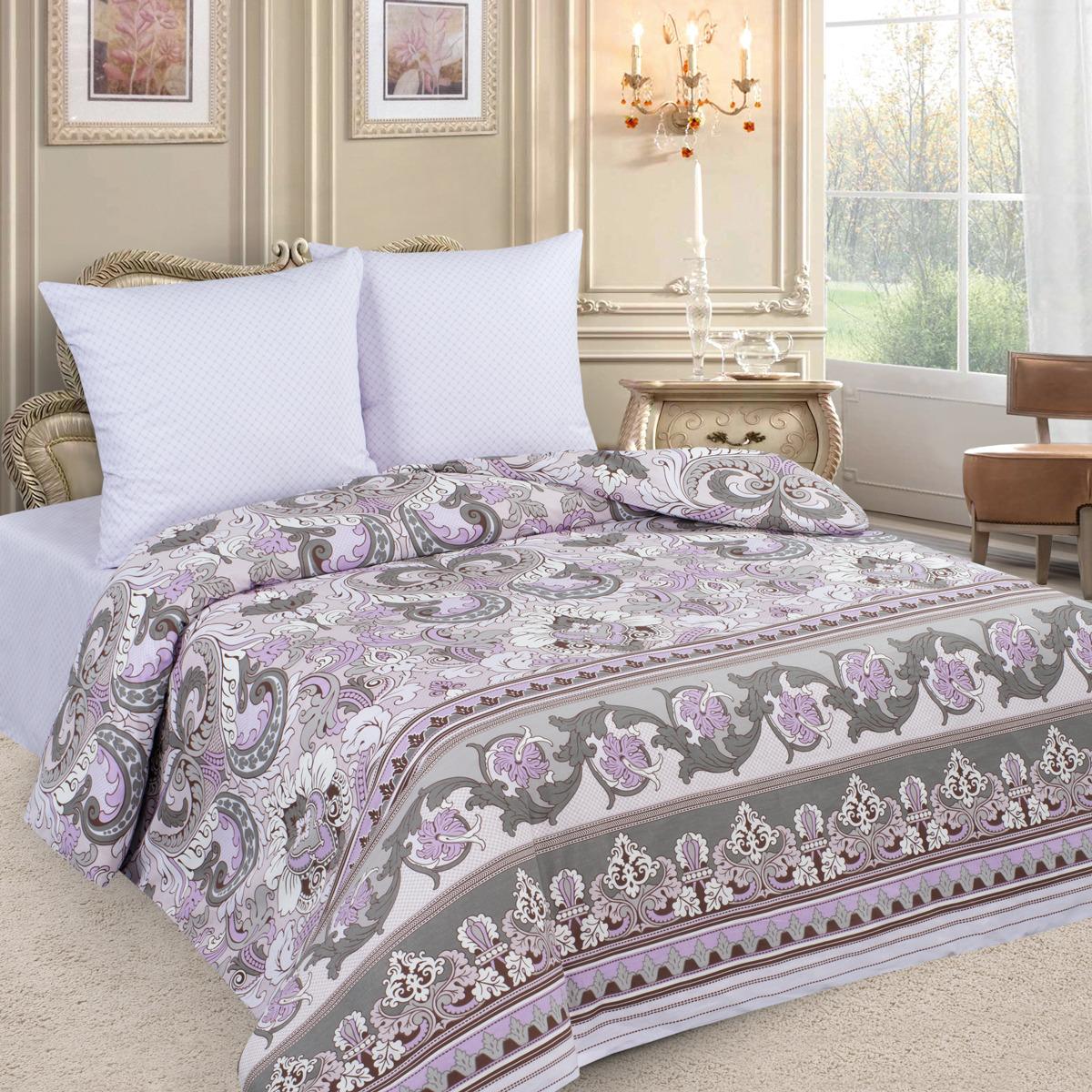 Комплект постельного белья Letto, 2-спальный, наволочки 70х70. PL64-4