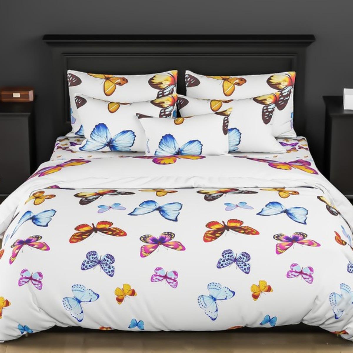 Комплект постельного белья Letto, 2-спальный, наволочки 70х70. PL67-4