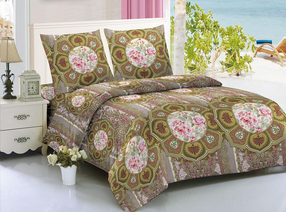 Комплект белья Amore Mio Vignette, 1,5 спальный, наволочки 70х70. 2988