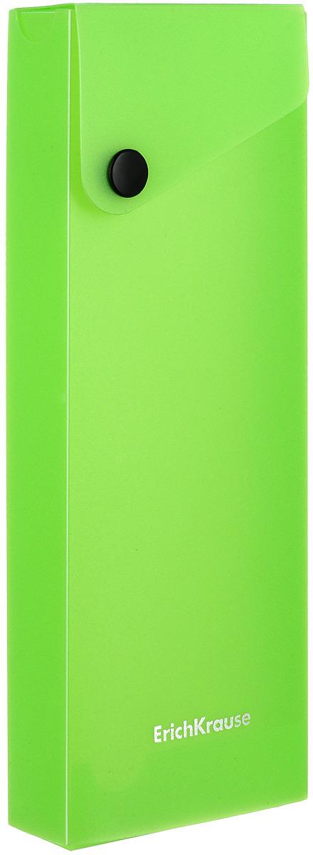Пенал Erich Krause Neon, цвет: салатовый erich krause рюкзак школьный альянс мстители multi pack mini