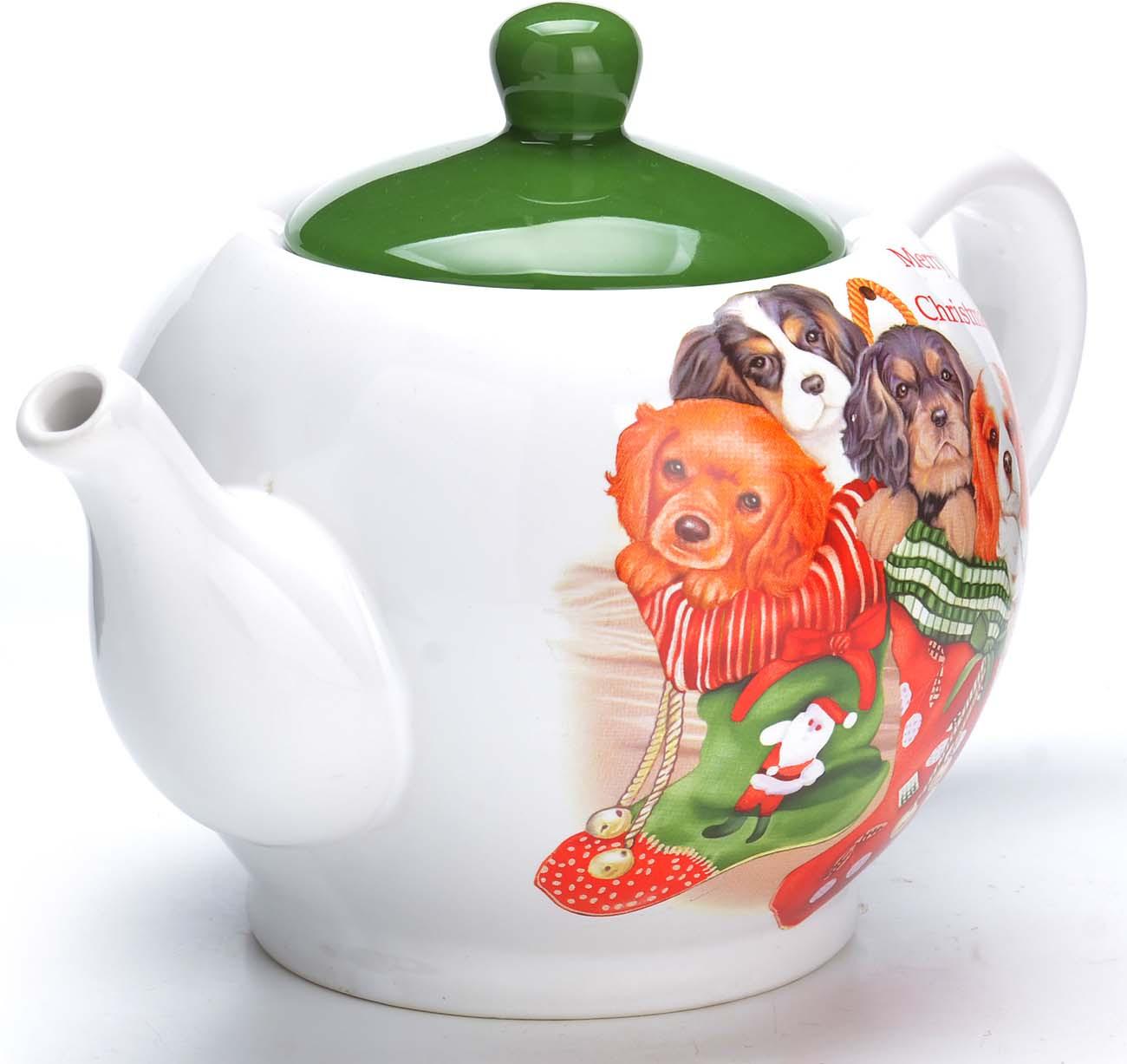 Заварочный чайник с крышкой поможет вам в приготовлении вкусного и ароматного чая, а также станет украшением вашей кухни. Он изготовлен из доломитовой керамики и оформлен красочным изображением. Яркий рисунок придает чайнику особый шарм, чайник удобен в использовании и понравится каждому. Такой заварочный чайник станет приятным и практичным подарком на любой праздник. Подходит для мытья в посудомоечной машине.