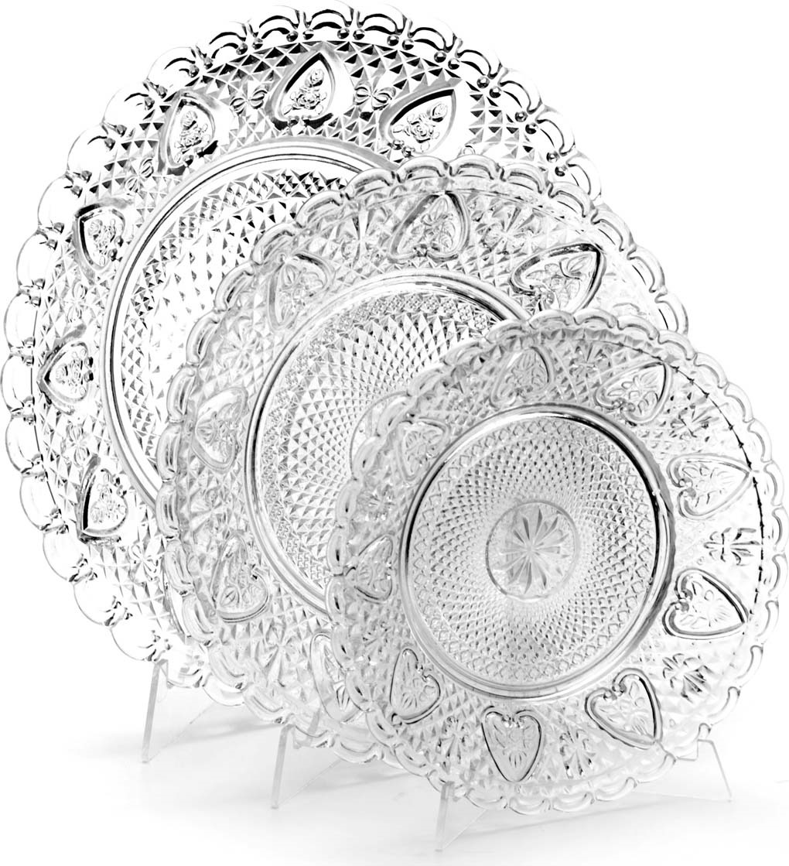 Набор посуды Mayer & Boch выполнен из высококачественного стекла и состоит из 3-х блюд различного диаметра. Изделие декорировано изящным резным рельефом и сочетает в себе изысканный дизайн с максимальной функциональностью. Оформление набора придется по вкусу ценителям классики и изящности. Набор Mayer & Boch послужит отличным подарком к любому празднику, а также добавит элегантности и уюта любому праздничному столу! Посуда обладает гладкой непористой поверхностью и не впитывает запахи, ее легко и просто мыть. Подходит для мытья в посудомоечной машине.