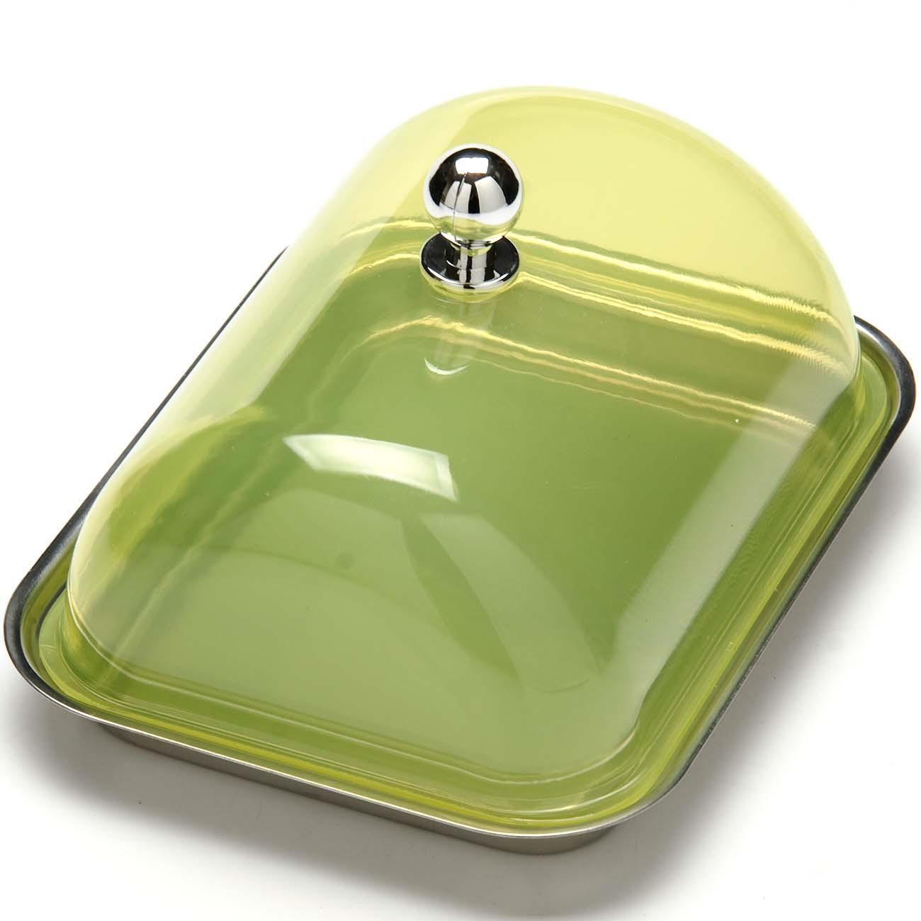 """Масленка """"Mayer & Boch""""с крышкой изготовлена из экологически чистых материалов высококачественной нержавеющей стали и пищевого пластика. Она предназначена для красивой сервировки и хранения масла. Масленка обладает оригинальным, современным дизайном, простотой в использовании, легкостью в уходе. Такая масленка прекрасно подойдет для вашей кухни."""