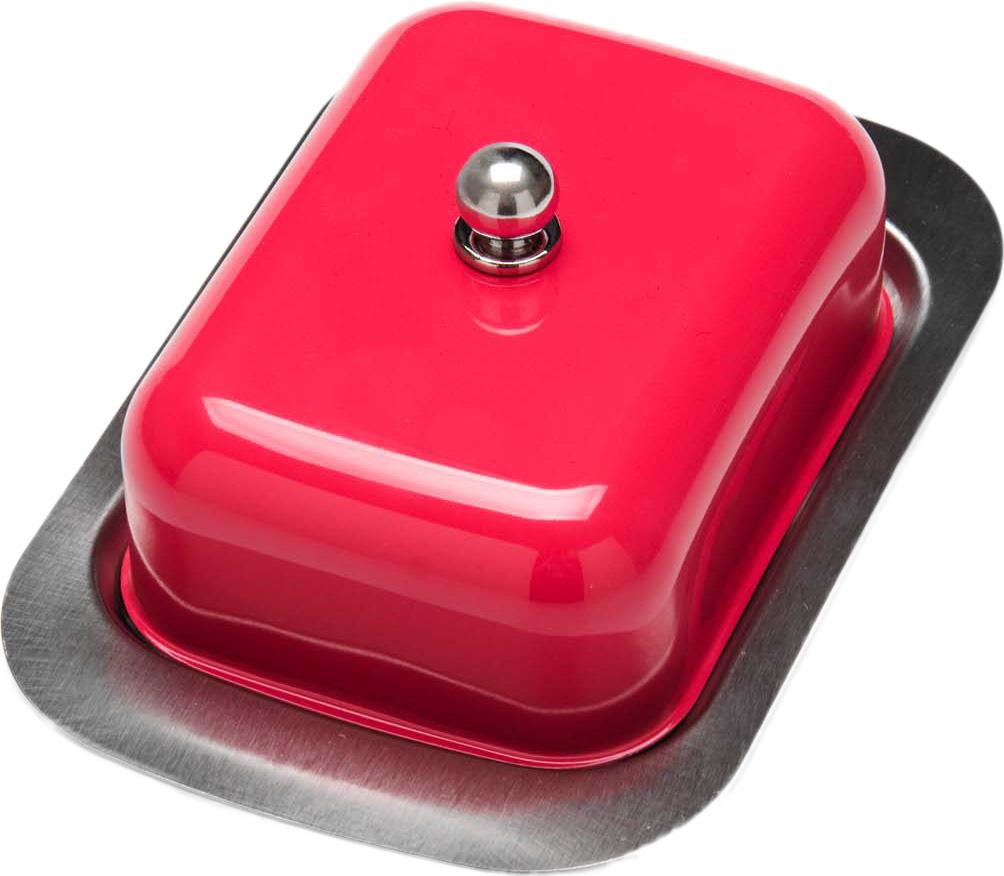 Удобная в эксплуатации масленка Mayer & Boch может быть использована для хранения сливочного масла или сыра. Масленка из нержавеющей стали не поддается коррозии и сохранит Ваши продукты свежими, как в холодильнике, так и на обеденном столе. Крышка из нержавеющей стали защитит масло от загрязнений. Прекрасный классический дизайн впишется в любой кухонный интерьер. В теплые дни, масленка защитит сливочное масло от таяния, если Вы не поместили ее в холодильник. Масленка рассчитана примерно на 200 масла. Подходит для использования в холодильнике и морозильном шкафу. Подходит для мытья в посудомоечной машине.