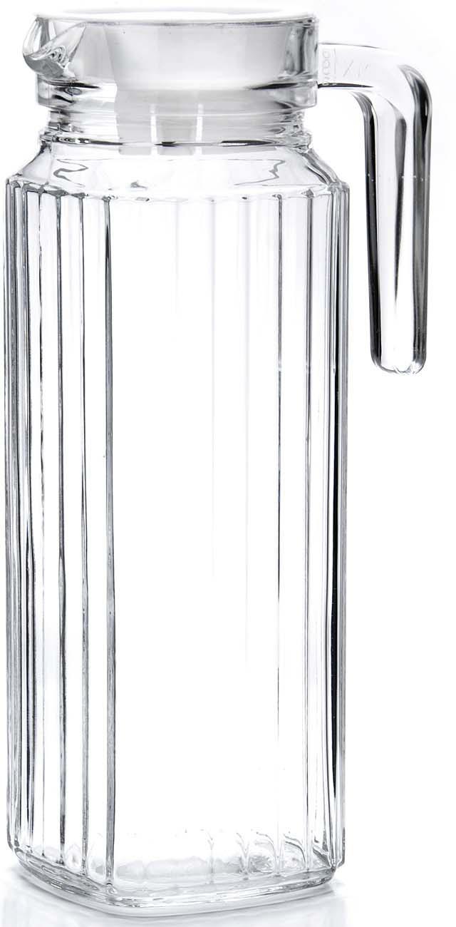 Кувшин выполнен из прочного высококачественного стекла. Стеклянный кувшин с крышкой предназначен для подачи на стол воды, сока, морса и других напитков, его красивое оформление придется по вкусу всем без исключения. Такой кувшин будет отличным украшением любой кухни! Объем кувшина 1600 мл. Посуда обладает гладкой непористой поверхностью, не впитывает запахи, легко моется.