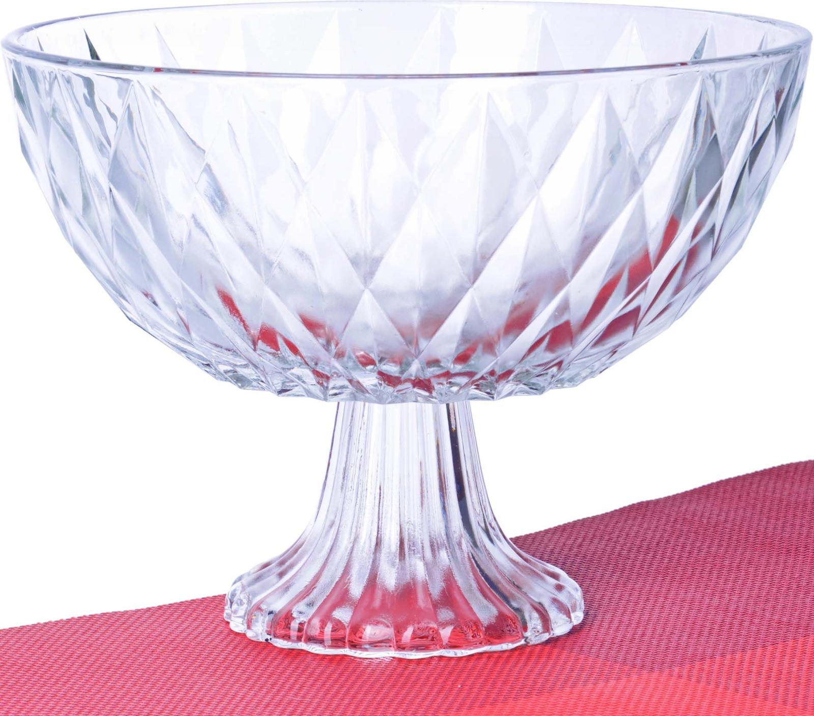 Глубокая ваза для фруктов Loraine выполнена из высококачественного стекла. Изделие декорировано изящным резным рельефом и сочетает в себе изысканный дизайн с максимальной функциональностью. Оформление вазы придется по вкусу ценителям классики и изящности. Ваза для фруктов Loraine послужит отличным подарком к любому празднику, а также добавит элегантности и уюта любому праздничному столу! Посуда обладает гладкой непористой поверхностью и не впитывает запахи, ее легко и просто мыть. Подходит для мытья в посудомоечной машине.