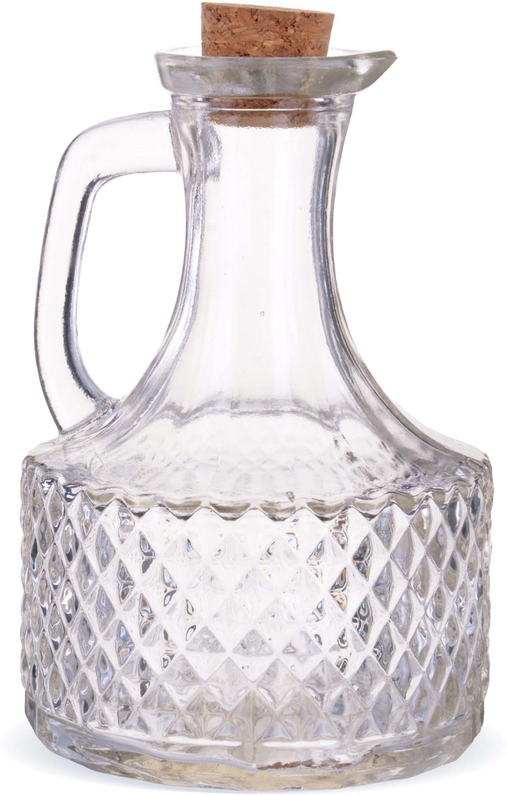 Графин Loraine выполнен из прочного высококачественного стекла. Мини графин с пробкой, благодаря компактным размерам найдет применение на любой, даже самой маленькой кухне. Посуда обладает гладкой непористой поверхностью, не впитывает запахи, легко моется.