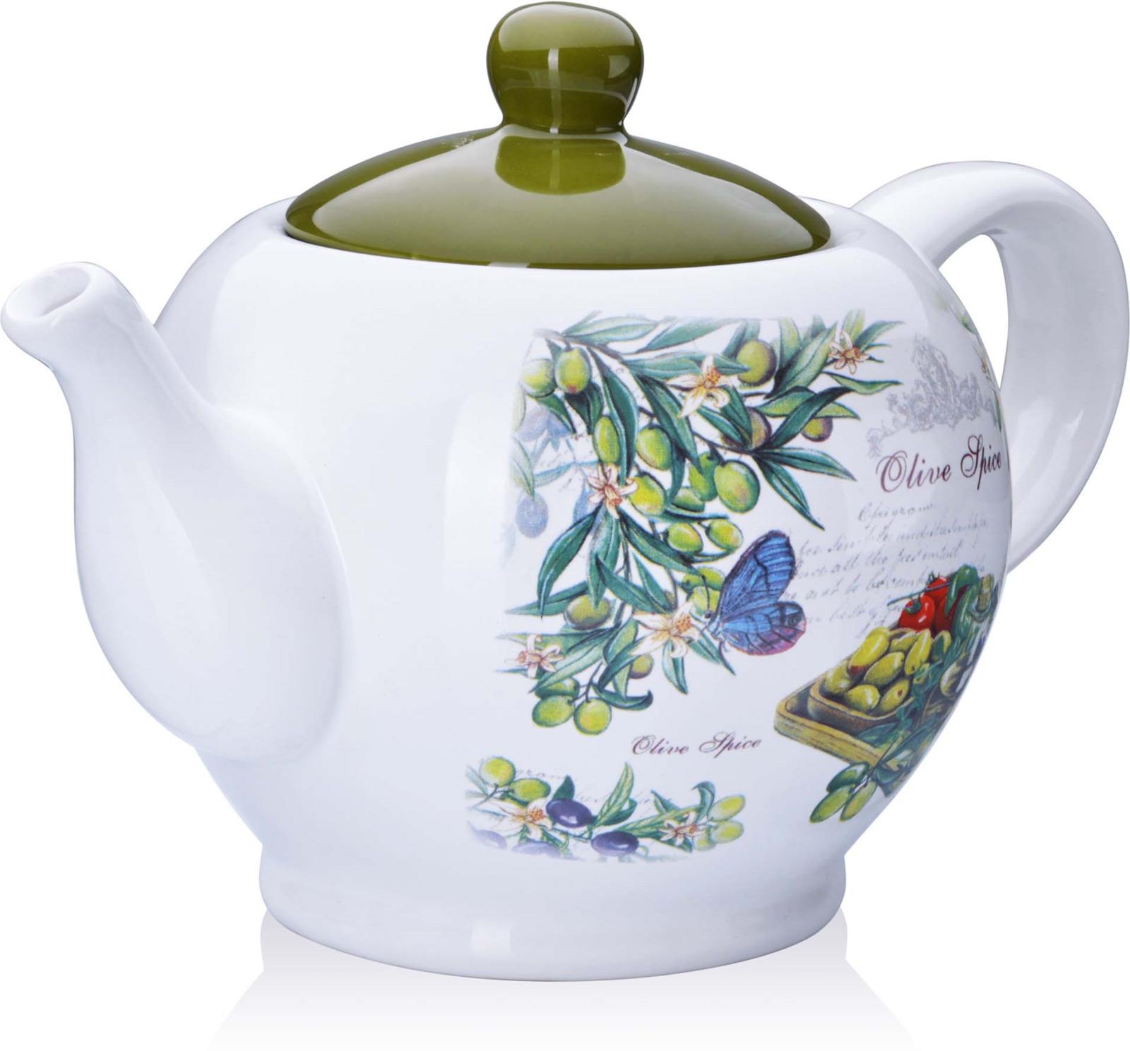 Заварочный чайник с крышкой Loraine поможет вам в приготовлении вкусного и ароматного чая, а также станет украшением вашей кухни. Он изготовлен из доломитовой керамики в красивых тонах и оформлен красочным изображением. Нежный рисунок придает чайнику особый шарм, чайник удобен в использовании и понравится каждому. Такой заварочный чайник станет приятным и практичным подарком на любой праздник. Подходит для мытья в посудомоечной машине.