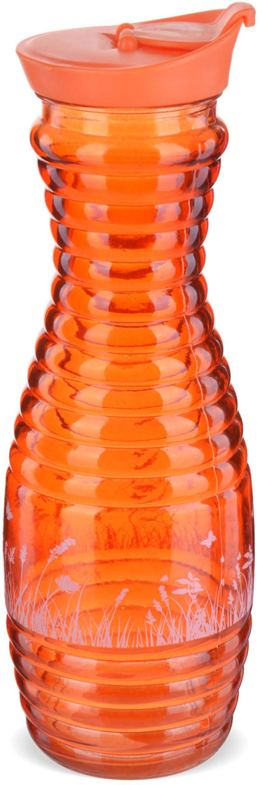 Графин Loraine, цвет: оранжевый, 1 л графин loraine 0 8 л
