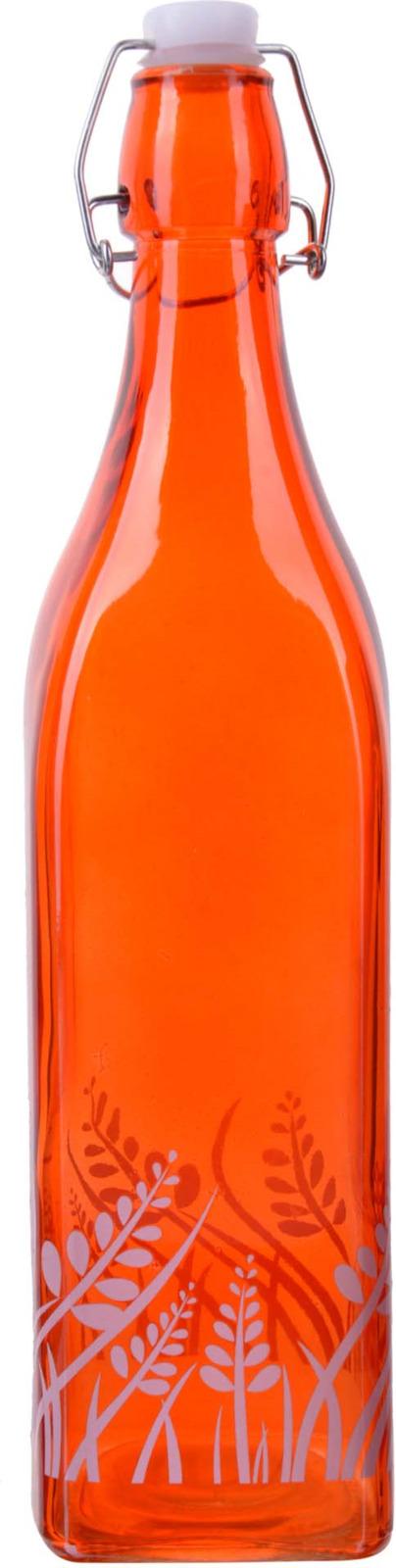 Бутылка Loraine, цвет:  оранжевый, 500 мл Loraine