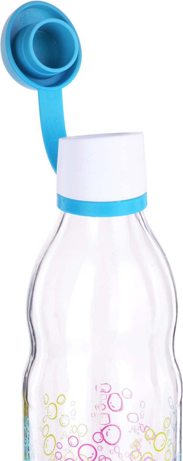 Бутылка Mayer & Boch, цвет: голубой, 0,5 л