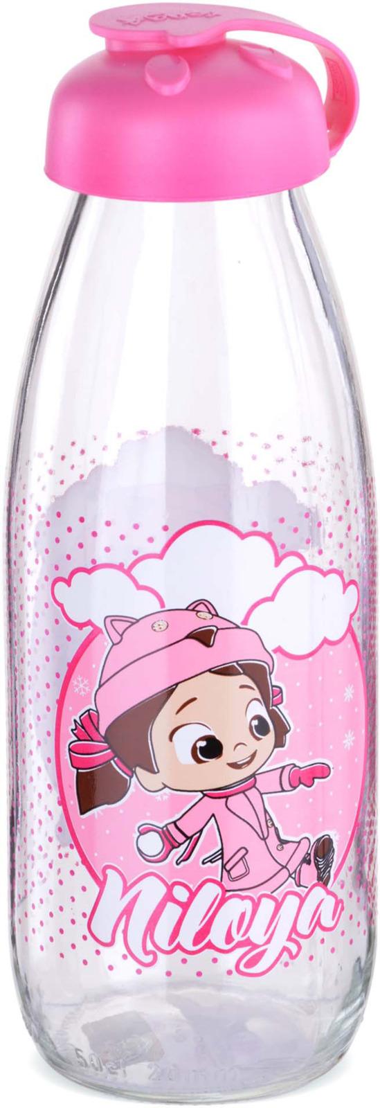 Бутылка для напитков Mayer & Boch, цвет: розовый, 0,5 л. у3887 стоимость