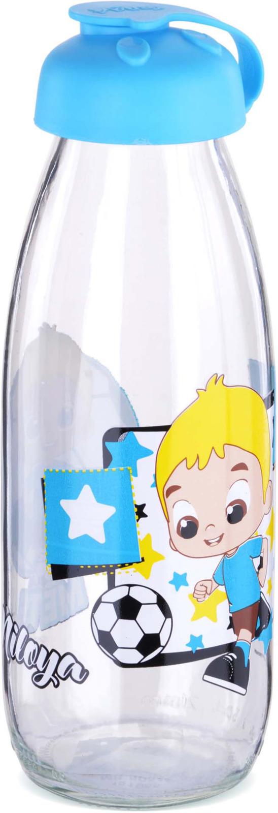 Бутылка для напитков Mayer & Boch, цвет: голубой, 0,5 л. у3986 стоимость