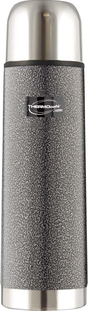 Термос серии HAMFK прекрасно справляется со своими функциями по сохранению температуры и вкуса напитков. Для усиления термоизолирующих свойств в конструкции пробки предусмотрен специальный клапан, крышку можно использовать как стаканчик. Компактная форма и классический дизайн, надежное покрытие брутального цвета, делает Термос HAMFK отличным аксессуаром для тех, кому нужен горячий или охлажденный напиток под рукой в течение дня.