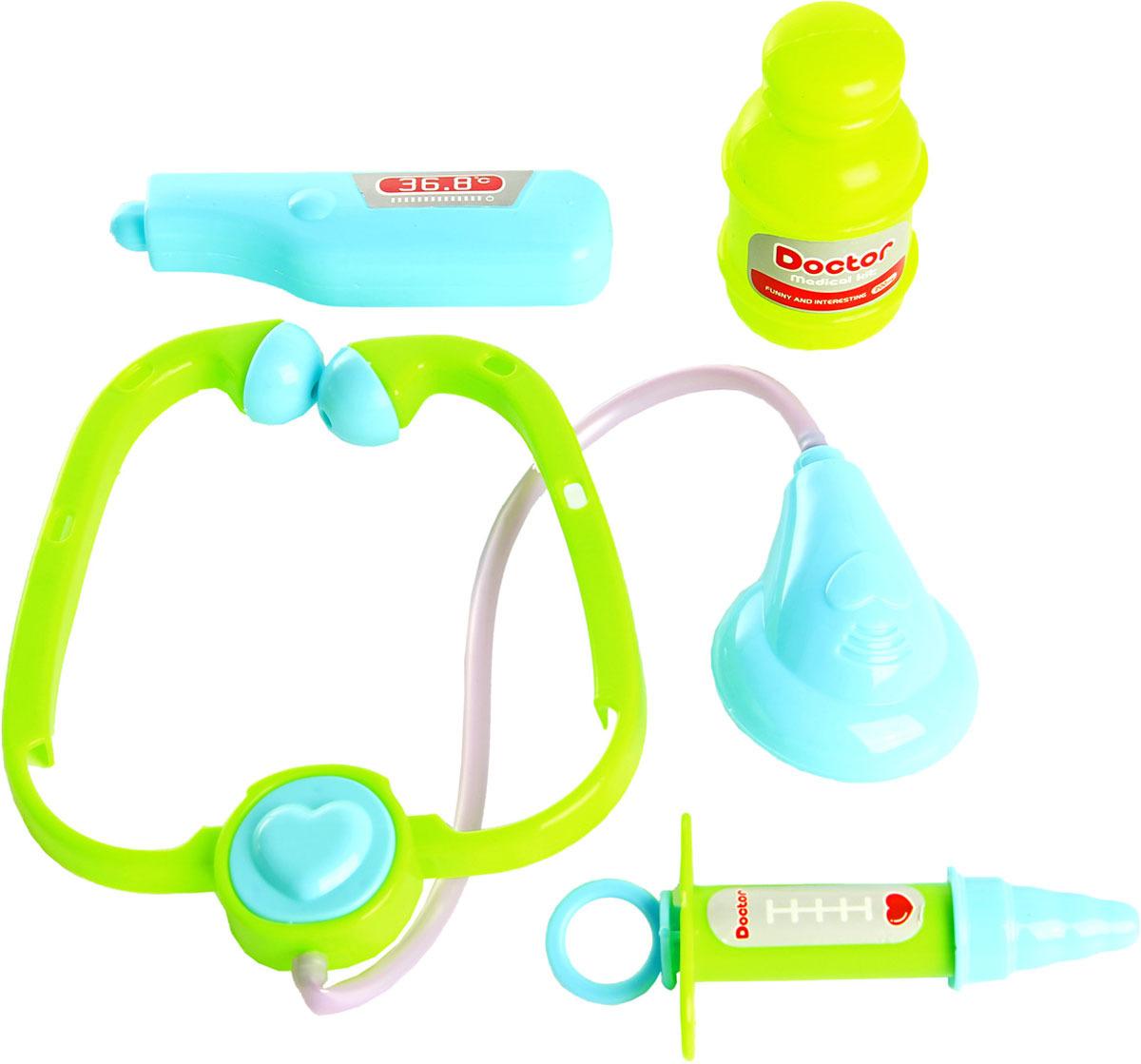 Сюжетно-ролевая игрушка Veld Co Набор доктора в чемодане. 59148 набор инструментов в чемодане veld co 73363