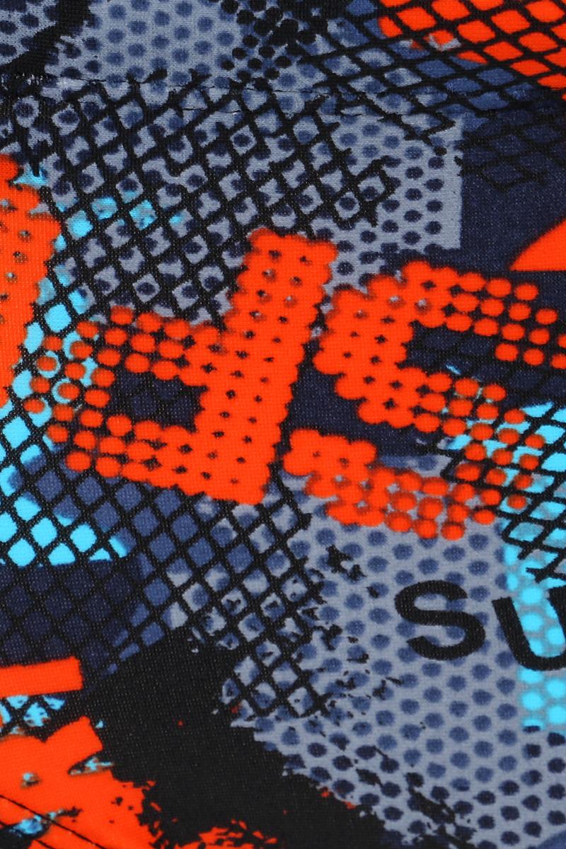 Плавки мужские Joss Men's Trunks, цвет:  синий, оранжевый.  MHT05S6-ME.  Размер 52 Joss