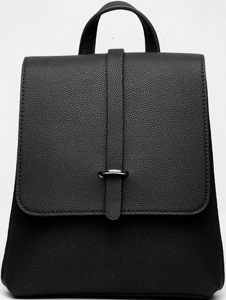 Сумка-рюкзак женская DDA, цвет: черный. DDA CR-1179BK