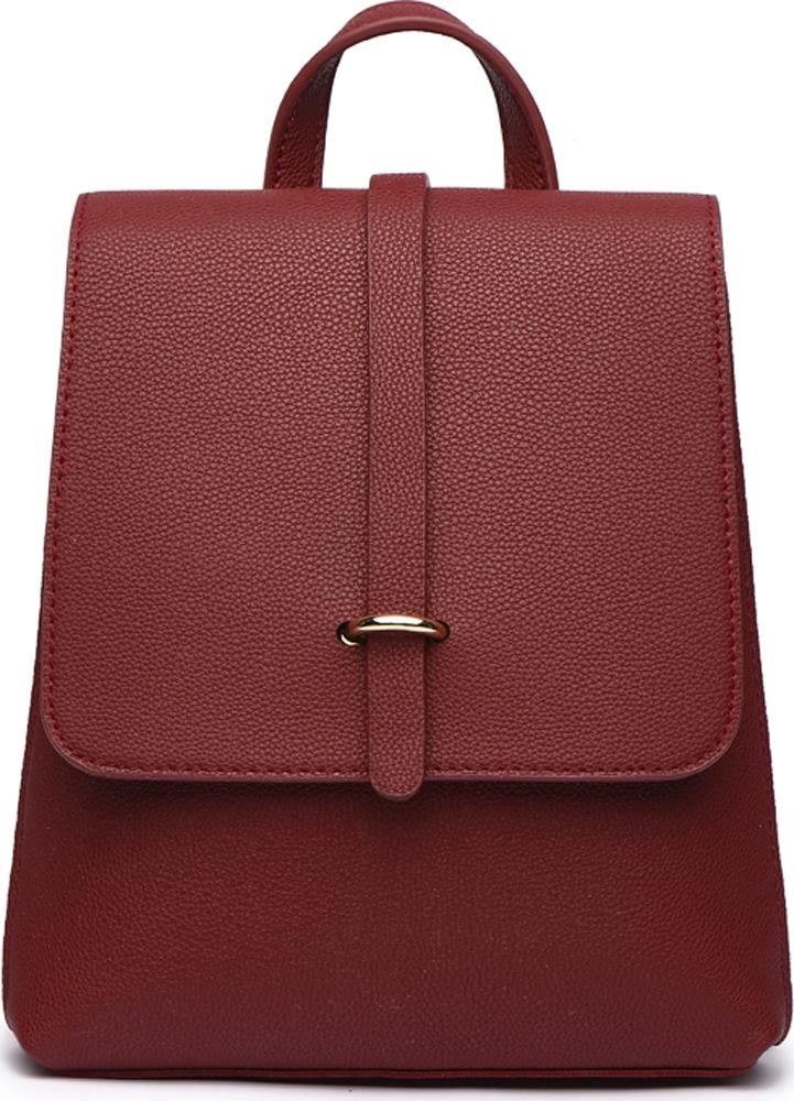Сумка-рюкзак женская DDA, цвет: бордовый. DDA CR-1180BO