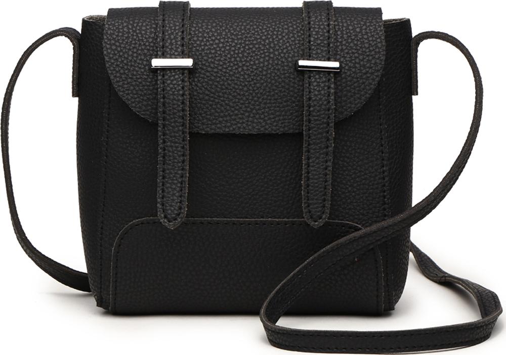 Сумка-рюкзак женская DDA, цвет: черный. DDA CR-1221BK сумка женская