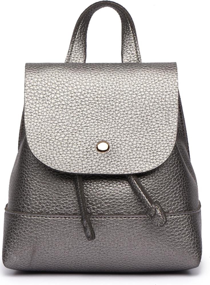 Сумка-рюкзак женская DDA, цвет: серебристый. DDA LB-1161DS сумка женская