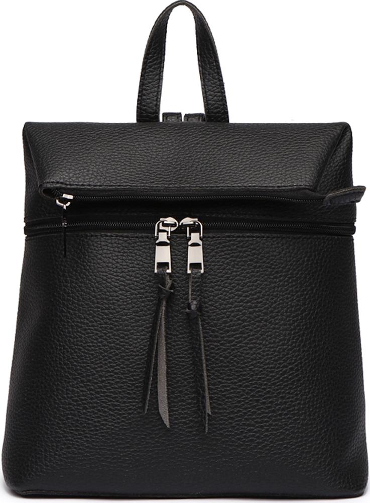 Сумка-рюкзак женская DDA, цвет: черный. DDA LB-1163BK сумка женская