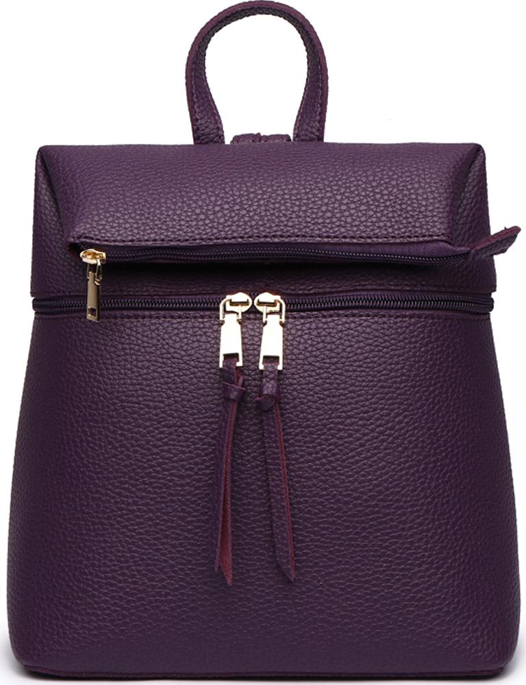 Сумка-рюкзак женская DDA, цвет: фиолетовый. DDA LB-1165PP сумка женская dakine stashable tote sienna sie