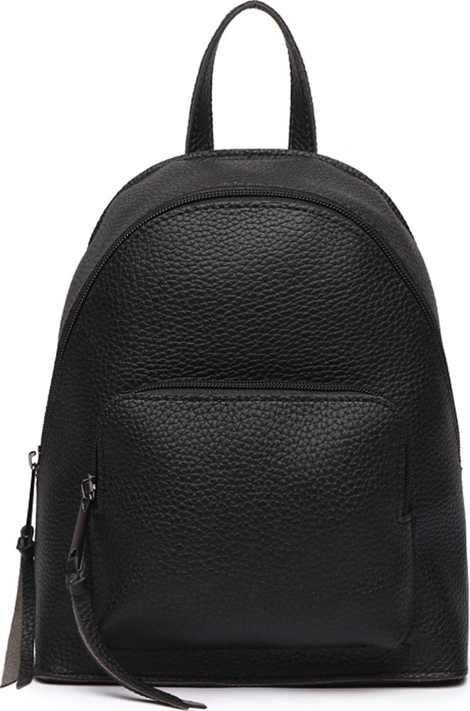 Сумка-рюкзак женская DDA, цвет: черный. DDA LB-1169BK ретро рюкзак мужчина пар рюкзак брезент сумка рюкзак для подростков туризм спортивная сумка кемпинг