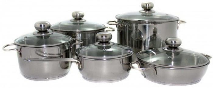 Посуда предназначена для приготовления пищи, долговечна и неприхотлива в эксплуатации. Изготавливается из нержавеющей (коррозионностойкой) сталисогласно ГОСТ, поэтому гигиенична и безопасна для здоровья вашей семьи. Нержавеющая сталь обладает малой теплопроводностью, поэтому посуда из нее остывает гораздо медленнее, чем любой другой вид посуды, а значит, приготовленное в ней более длительное время остается горячим.