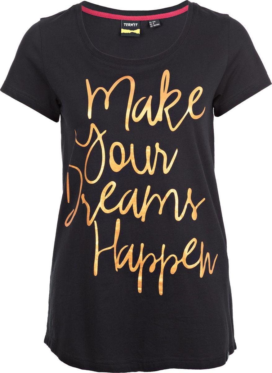 Футболка женская Termit Women's T-Shirt, цвет: черный. A19ATETSW01-99. Размер XS (42) смартфон meizu pro 7 plus 64gb m793h золотистый