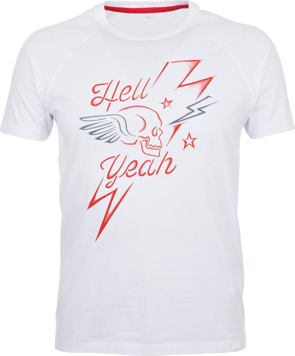 Футболка мужская Termit Men's T-Shirt, цвет: белый. A19ATETSM01-00. Размер XL (52) termit покрытие для скейтборда termit