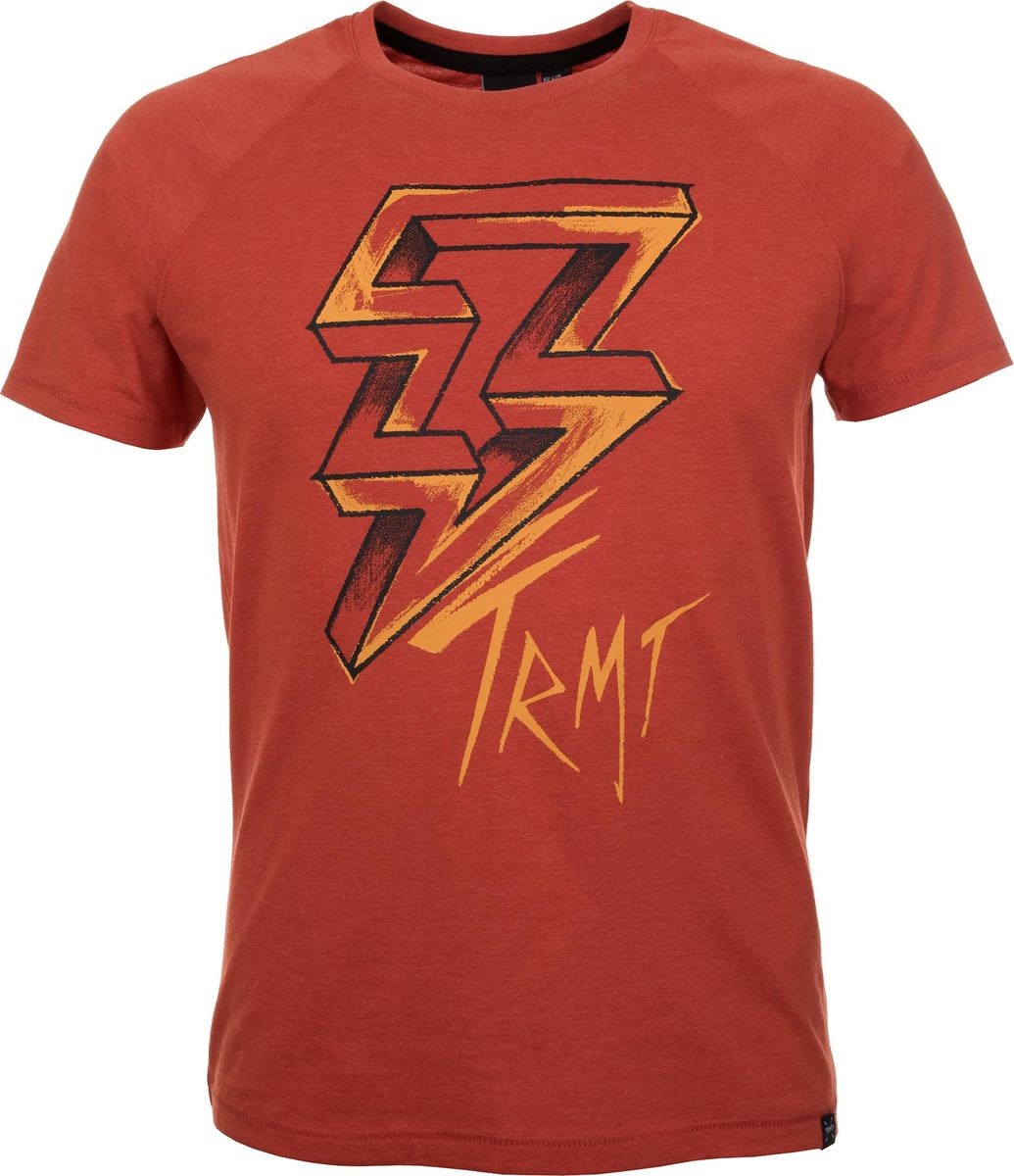 Футболка мужская Termit Men's T-Shirt, цвет: красный. A19ATETSM01-R2. Размер XL (52) termit покрытие для скейтборда termit