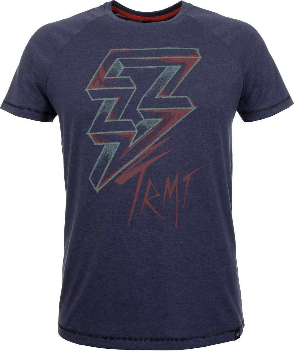 Футболка мужская Termit Men's T-Shirt, цвет: темно-синий. A19ATETSM01-Z4. Размер M (48) termit покрытие для скейтборда termit