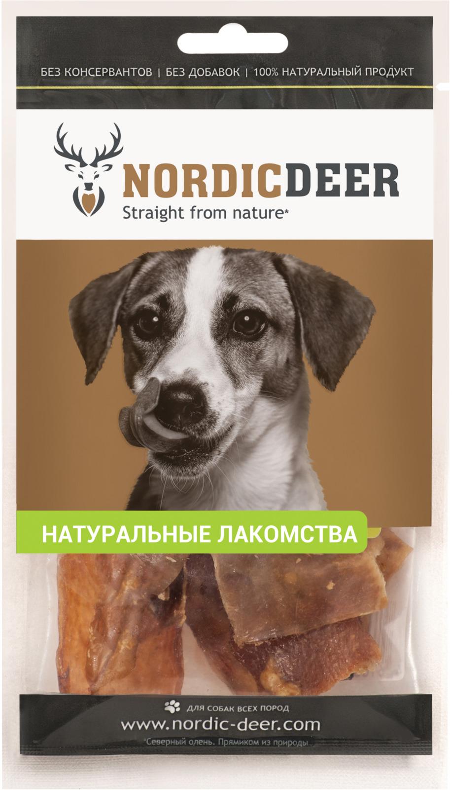 Лакомство для собак Nordic Deer Аорта, 5 см, 40 г nordic modern living room bedroom background simple english deer head decorative