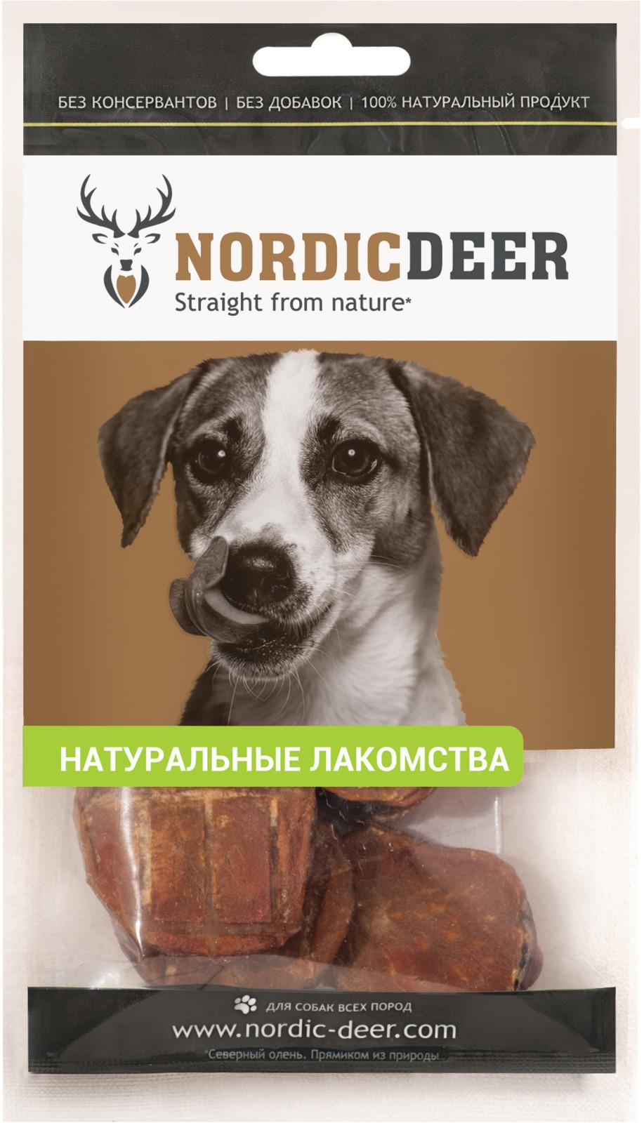 Лакомство для собак Nordic Deer Семенники говяжьи, 40 г nordic modern living room bedroom background simple english deer head decorative