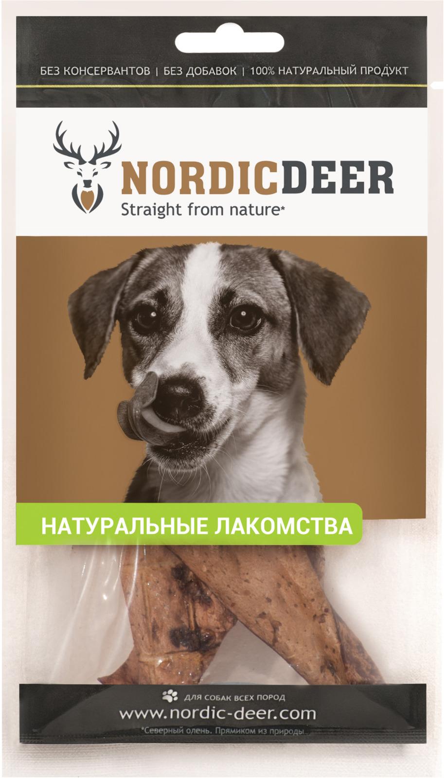 Лакомство для собак Nordic Deer Легкое баранина, 30 г nordic modern living room bedroom background simple english deer head decorative