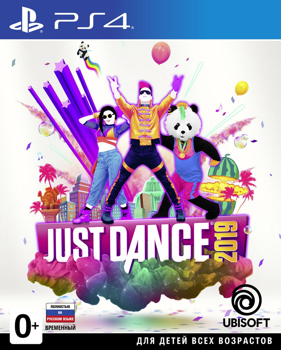 Just Dance 2019 (PS4) игра для ps ps4 2015 just dance 2015