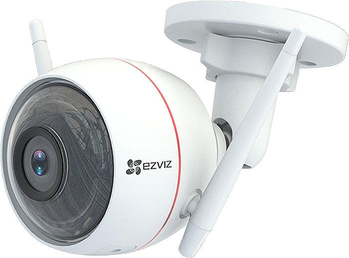 Камера видеонаблюдения Ezviz Husky Air 2,8 mm, White ip камера hiwatch ds i122 4 mm 1 3мп уличная купольная мини ip камера ик подсветкой до 15м 1 3 cmos матрица объектив 4мм угол обзора 73 1° ме