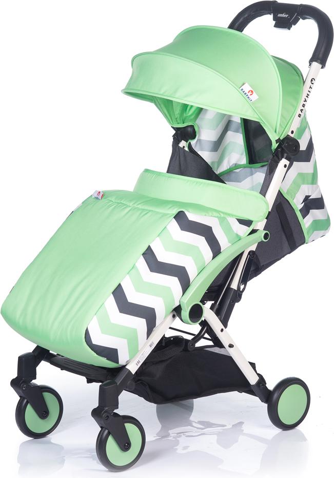 Коляска прогулочная BabyHit Amber Plus, цвет: зеленый babyhit babyhit ходунки first step зеленые
