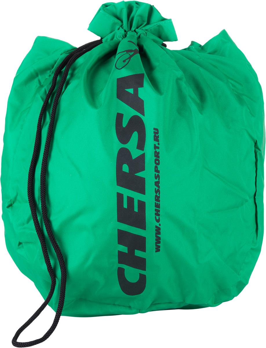 Чехол для мяча художественной гимнастики, бархат, цвет: зеленый. УТ-00006952 стойка для гимнастических мячей на 9 шт grome fitness pbr 111 gbr 104