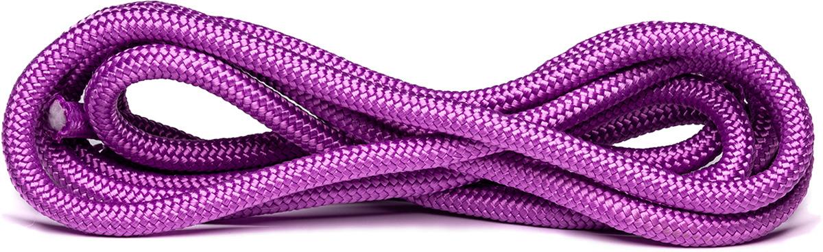 Скакалка для художественной гимнастики Amely AGO-104, длина 3 м, цвет: сиреневый скакалка скоростная proxima crossfit jr 7001 r red